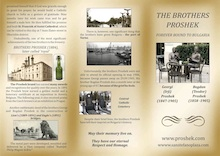 Leaflet about the Proshek Brothers (pdf)